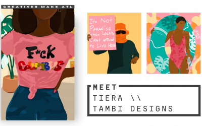 """""""I was about 6/7 when I created my first mock-ups for a T-shirt line"""" – Meet Tambi Designs!"""