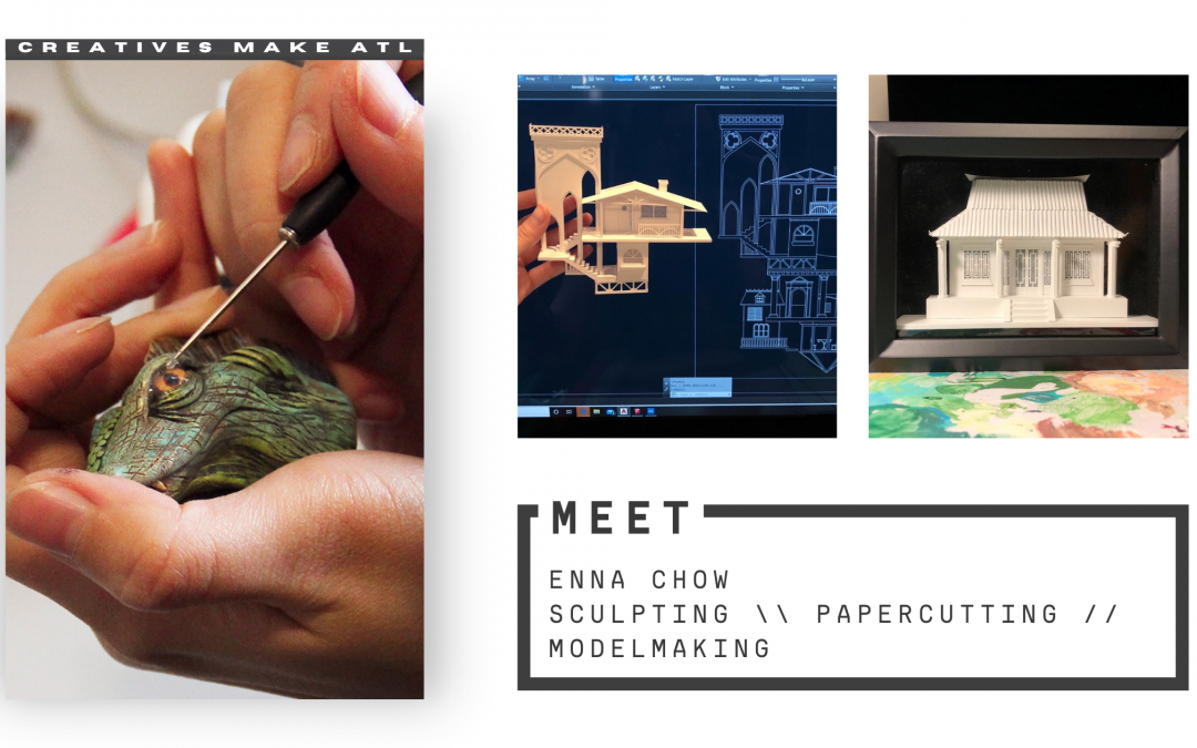 Enna Chow brings ideas to life through her craft
