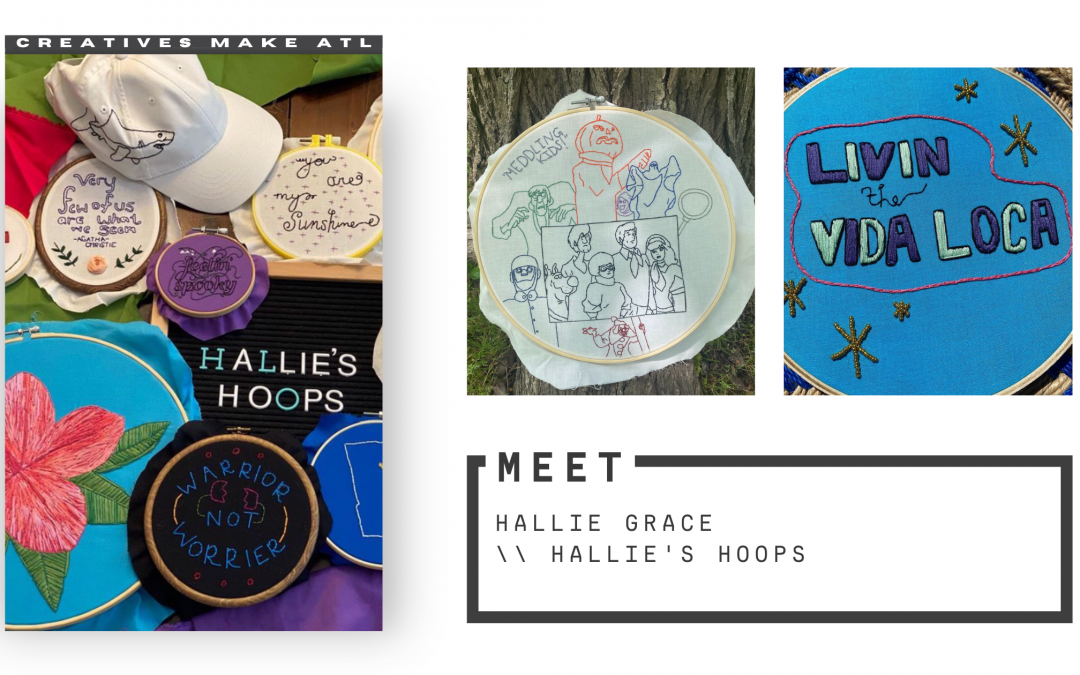 Self-imposed struggles and finding her own creative venture, meet Hallie