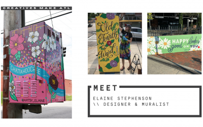 Art is a way of living, we're chatting with Elaine Stephenson