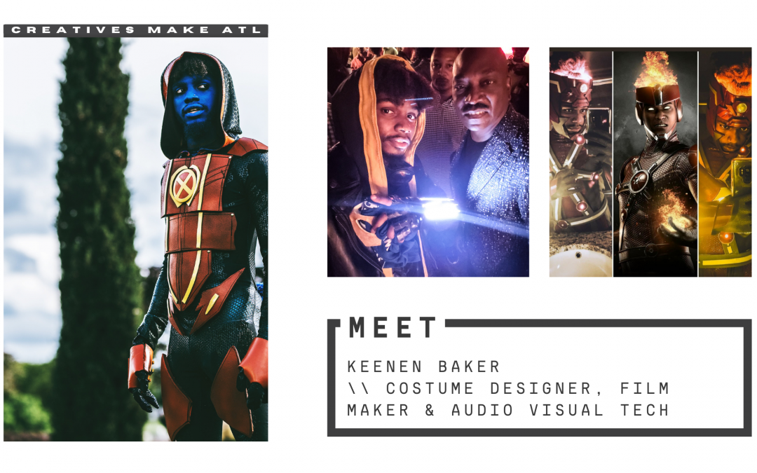 Keenen wants you to pursue a career you're passionate about, just like him! CMATL's first cosplayer feature!