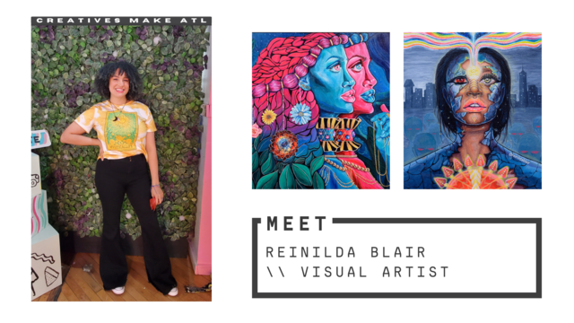 Don't let self-doubt stop you from creating, let's chat with Reinilda!