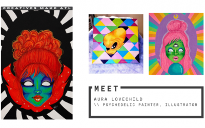 Healing through art, let's chat with Aura Lovechild