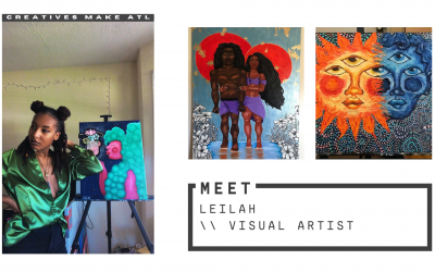 Feeling unfulfilled by the 9-5?  Leilah has advice for artists!