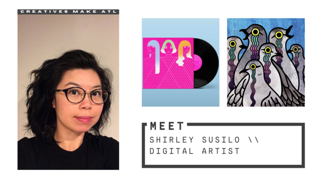 Shirley wants you to know your work is good enough to be shown!