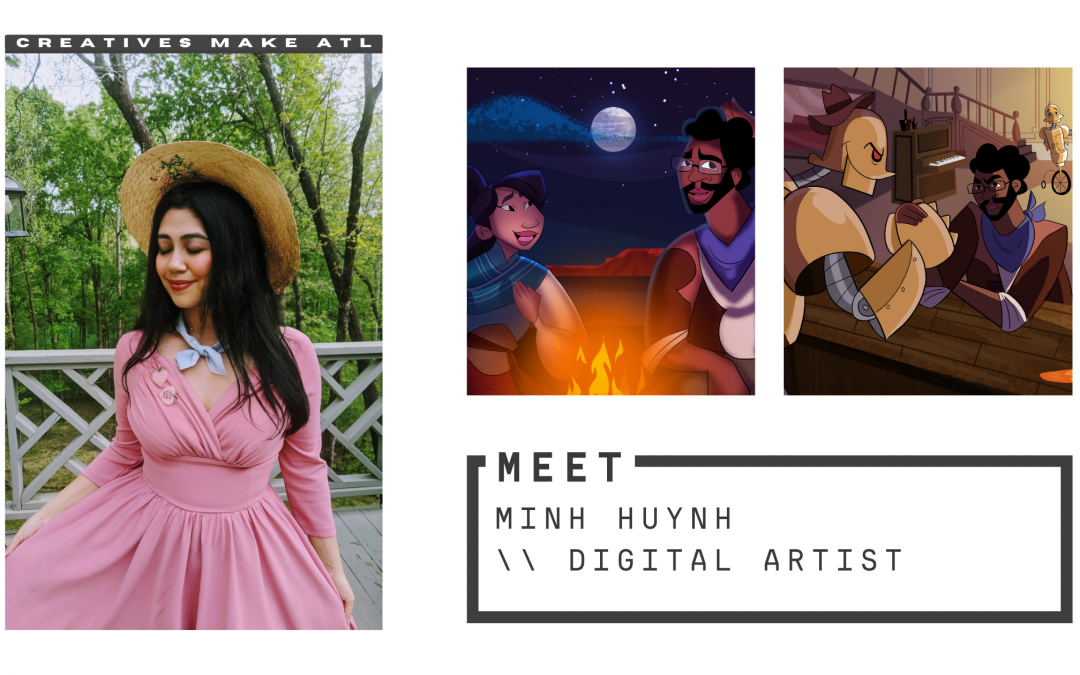 Minh says make your art the purest extension of your spirit, and people will inevitably connect